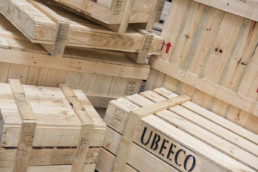 UBEECO wooden cases