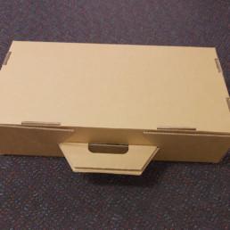 custom die cut carton