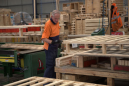 manufacturing wooden pallets