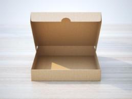 die cut cardboard carton