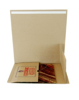 qikpak cardboard LP vinyl mailers storage
