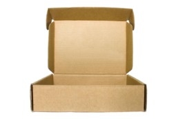 die cut cardboard carton box