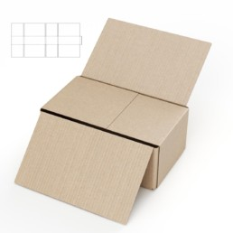 Full Over Flap cardboard box