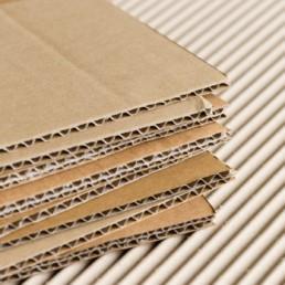 flute style cardboard