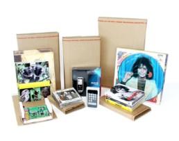 qikpak cardboard mailers CDs books vinyl