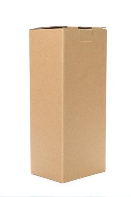 die cut cardboard tall carton
