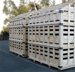 timber stackable crates melbourne