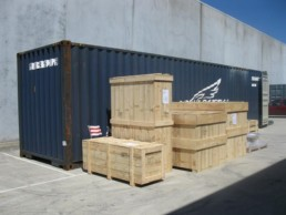 wooden pine cases for export melbourne