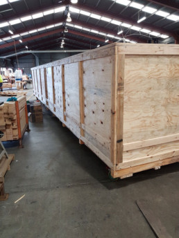 integra QLD export wooden cases