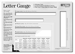 Letter Gauge Australia Post