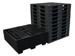 Nestable Plastic Pallets for Export