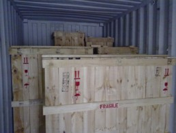 export container packing