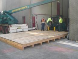 Machinery Base heavy duty pallets