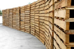 standard wooden pallets