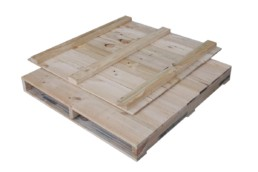 Closed Deck wooden pallets