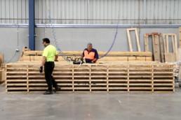 Specialty timber pallets