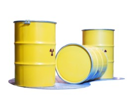 spill containment yellow storage drums