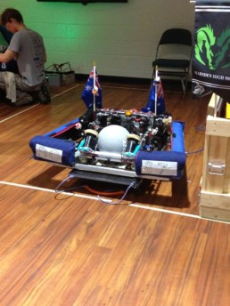Marsden High robot has arrived in the USA