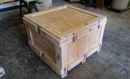 timber box ready in our factory