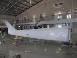 Machinery Packing with Intercept Wrap on Plane
