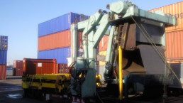 container packing onsite