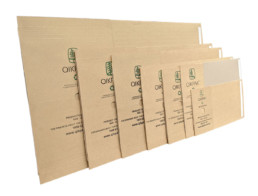 QIKPAK cardboard mailers sizes