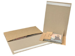 cardboard mailers for cd and dvd