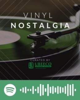 Playlist of throwback songs on vinyl