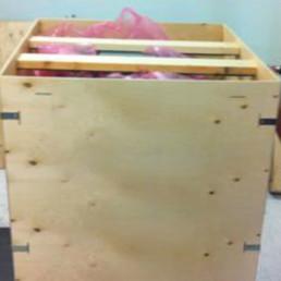 no nail plywood case