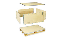 easy to assemble plywood case